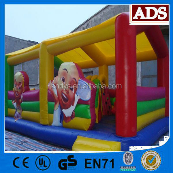 UPIN and IPIN Inflatable FunCity inflatable amusement park!!!