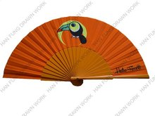 promotion wood fan