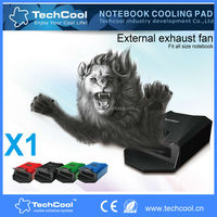laptop gaming cooler external exhaust fan with 3 speed gears for all size and all brand laptop