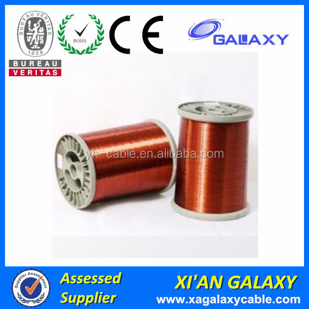 Super daul coating heating fireproof Electrical Class130 class150 Enameled copper wire 2.5mm electrical