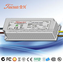 80Vdc 28W CE Constant Current 350mA LED Driver JA-80350A024 Tauras