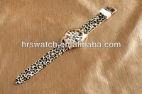custom fashion leopard printing watch for gift,custom printed watches,printing watch face