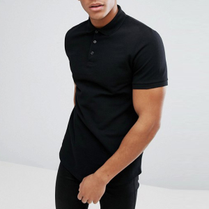 gold China supplier custom blank black cotton mens slim fit polo t shirt
