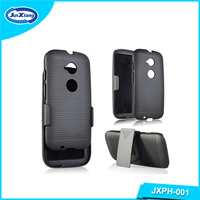 Business style mobile accessories phone case for Moto E2 with stand XT1505