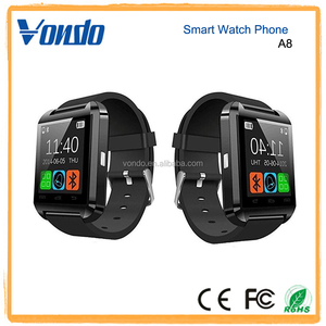 Vondo A8 Bluetooth Wrist Smart Watch Waterproof Phone Mate For Android IOS Samsung
