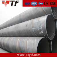 Factory Oil and Gas l carbon spiral welded steel pipe