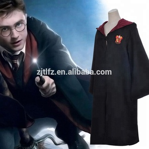 Hot sale Harry Potter Magic cape Movie Harry Potter Gryffindor cosplay costume