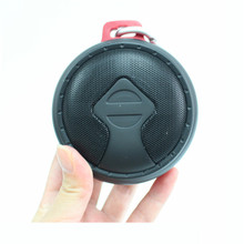 Factory selling fashion fast production round portable speaker