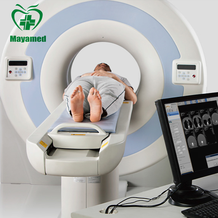 2016 hot sale price medical equipment High Resolution monitor dual 16 slice ct scan machine