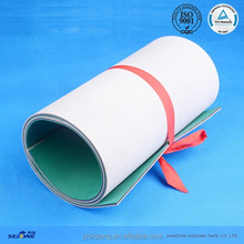 Top quality abrasion resistant leather belts for spinning machine