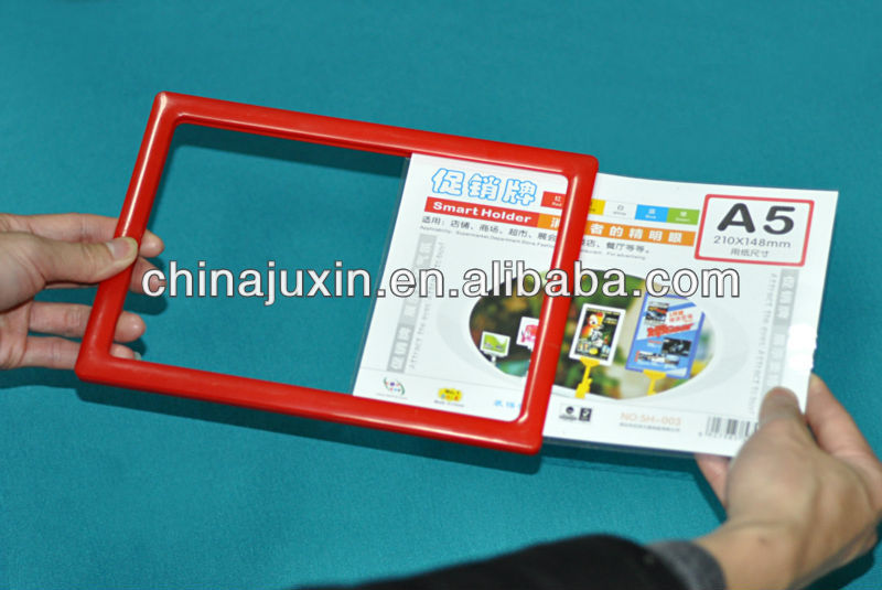 A3 A4 A5 Plastic Snap Frames , Advertising Display Poster Pop Bid Frame