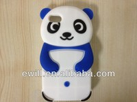 for iphone 5c 3D panda silicon case