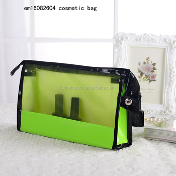 2016 wholesale women net cosmetic bag small bags convenience bag