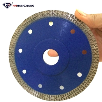 Brick wall cutting tools X type turbo diamond saw blade for ceramic or porcelain