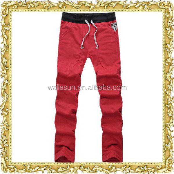 Unique 100% cotton solid color vibrating pants
