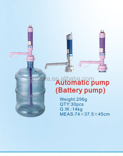 battery operated water pump for drinking water