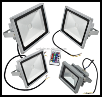 high lumen led flood light 30w cob led flood light rgb