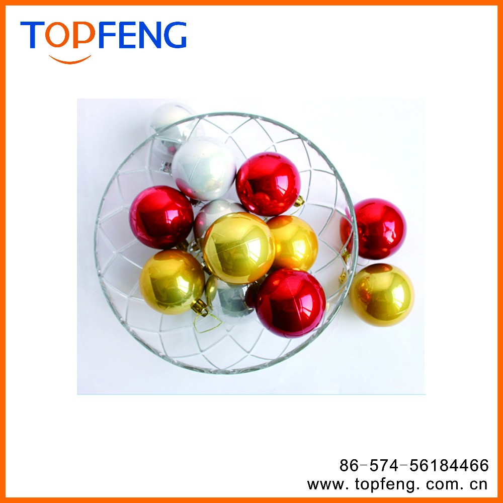 Christmas plastic ball wholesale clear