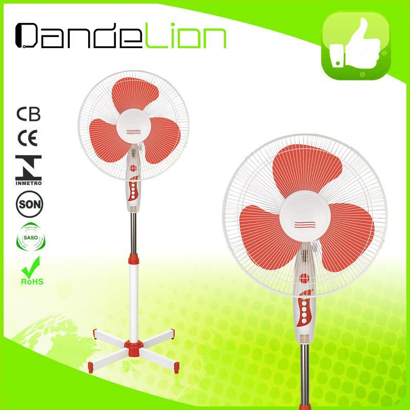 high quality cheap 16 inch electric double oscillation stand fan