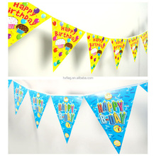 Free design hanging bunting string flag for party decoration