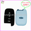 China manufacturer with 4 buttons cheap wholesale silicone car key cover for hyundai