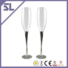 Wholesale Goblets Metal Silver Plated Metal Wine Goblets For Sale in Holiday For Christmas Gift and Decoration Made in China