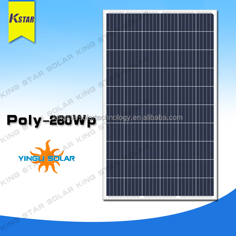240w poly solar panel with CE&ISO