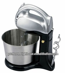 2013 good market OEM professional electric hand mixer,Function of electric hand mixer, 7speeds,with bowl,100W,PN-518wb