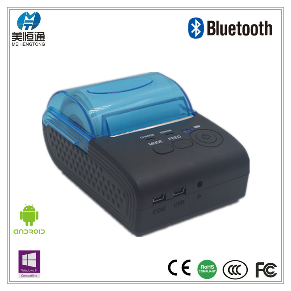 "Good Quality Supermarket Handheld Thermal Bluetooth 3"" Mobile Printer With Free Android SDK MHT-8001"