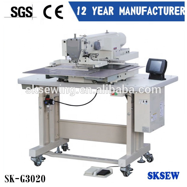 heavy duty automatic programmable computer shoes making pattern sewing machine