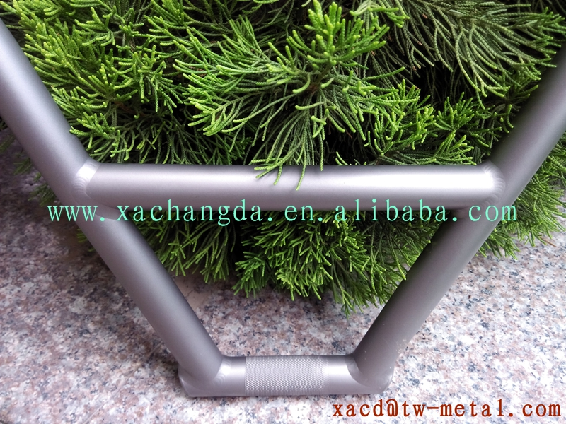 titanium BMX handlebar with sand blast finished BMX handle bar
