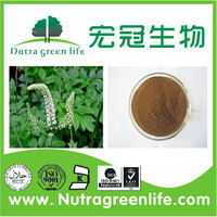 Black Cohosh 2.5-8% Triterpene Saponins, Black Cohosh Extract with Free sample