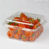 factory customized space saving 4 compartment square PP food tray