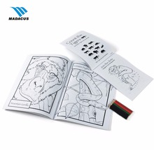 high quality OEM printing cheap bulk perfect binding flower coloring drawing book for adults