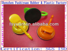 47 58mm vacuum drawing strong super market silicone rubber super suction cup sucker rubber suction cup with plastic lock