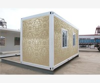 light structure prefabricated mobile fast construction 20ft container house for Algeria