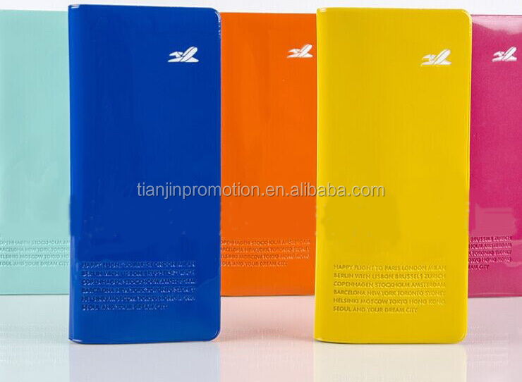 foldable PVC travel airline ticket holder