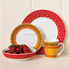 Alibaba Hot Sale Cheap made in poland china dinnerware