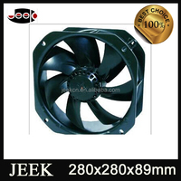 280mm industrial cooling fan air conditioner with Aluminum blade