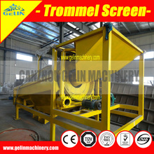 Alluvial gold vibrating chute for river sand gold mine