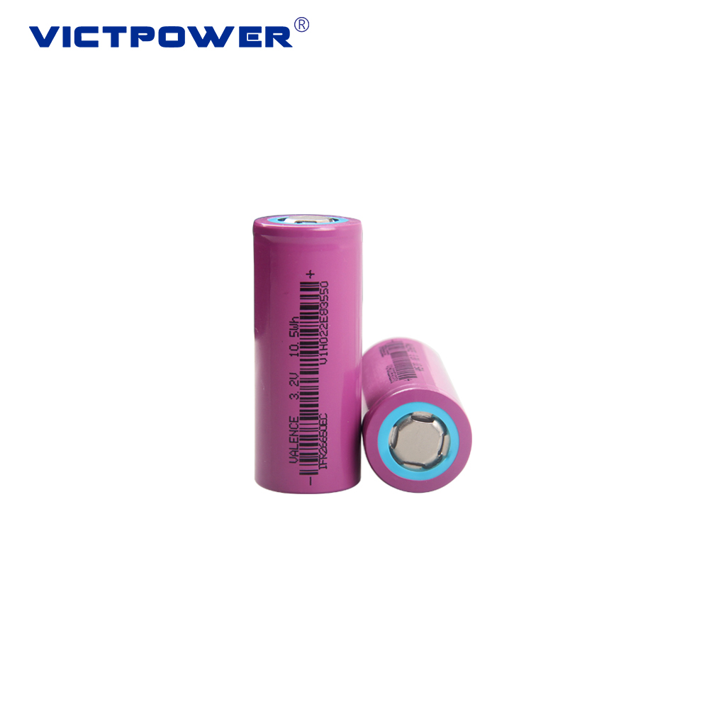 Rechargeable Lifepo4 battery 3200mah IFP26650EC 3.2v 18650 li-ion battery for electric bike