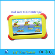 4.3 Inch RK3026 Corshockproof 7 kids tablet android 4.2 tablet pc