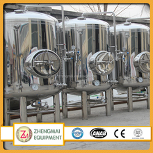 New customized bright beer tank single wall bright beer tank