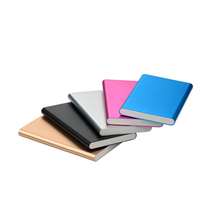 Active stock Products for wholesale Ultra thin case with single USB port mobile charger power bank 4000mah