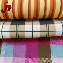 Hangzhou textile 420D fancy dyeing sun screen print oxford fabric for curtain