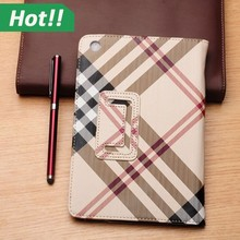 Retro PU Leather Stand Case Smart Cover for iPad Mini 1 2 3 Business Style with Buckle Fashion design