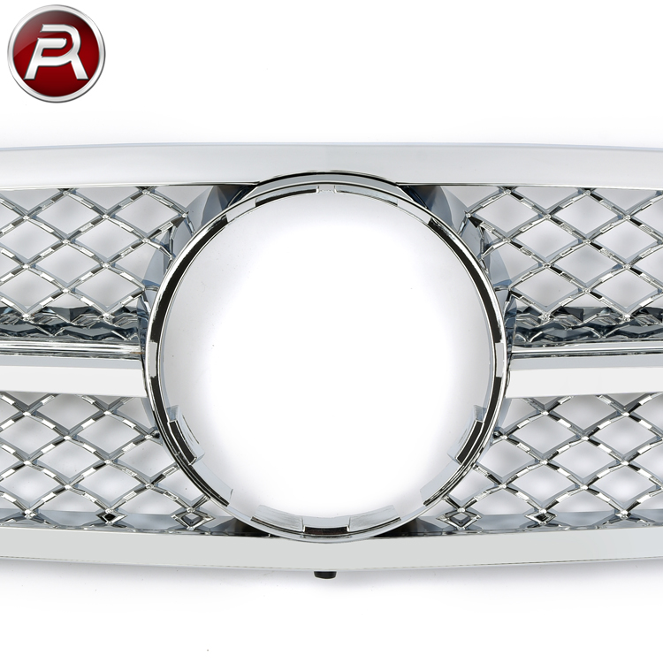 Diamond Grille Auto Parts for Mercedes W203 for Mercedes C-Class W203 Body Kit