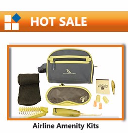 Hot Sale Cheap Travel Kit Airline Overnight Kit