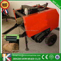 corn silage round baler / hay grass straw silage alfalfa available compress baling press mini round hay balers
