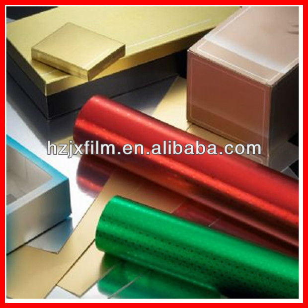 metalized bopet gift wrap film